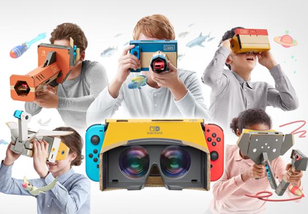 任天堂推出全新LABO套装,用Switch体验VR乐趣