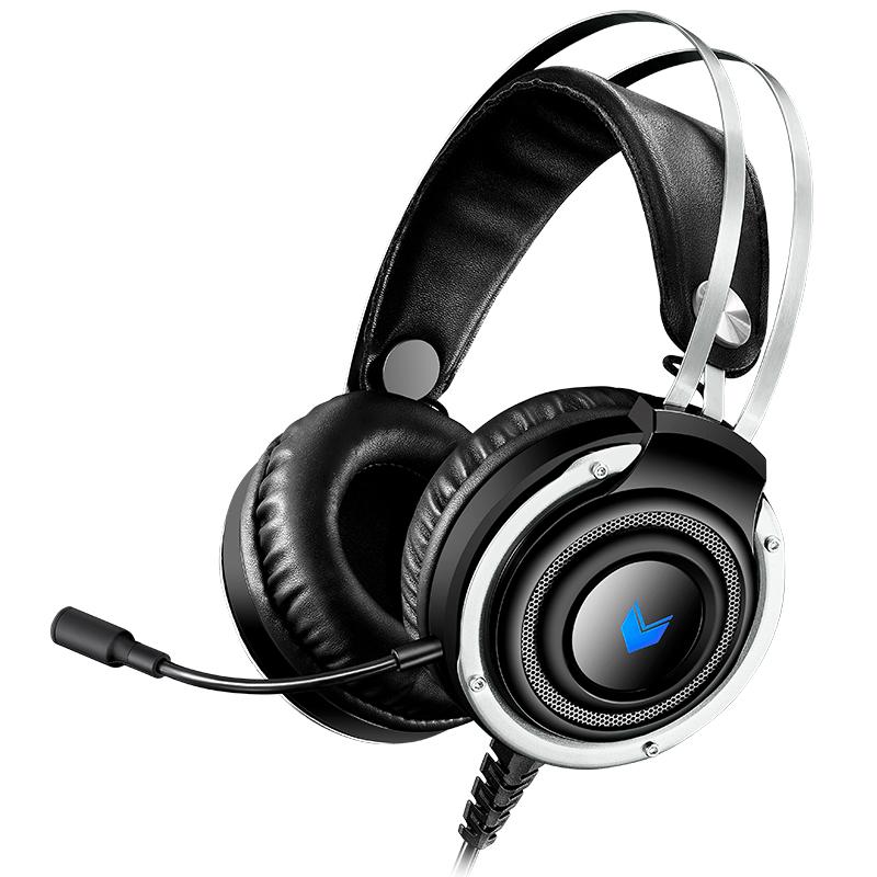 RAPOO 雷柏 VH100S 耳机 (通用、头戴式、220Ω、黑色)