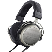beyerdynamic 拜亚动力 T1 耳机 (动圈、头戴式、600Ω、二代银色 银色)