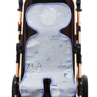9i9久爱久宝宝推车席子婴儿童车凉席通用蓝色160305 *5件+凑单品
