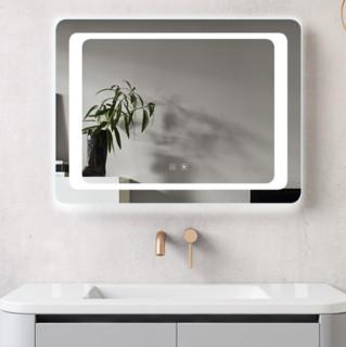 SHKL 心海伽蓝  基础版双触控高清浴室防雾镜 白光+双触摸开关+防雾 600*800mm