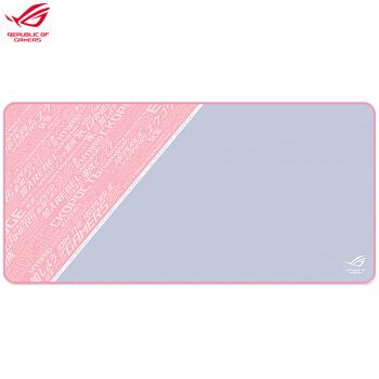 ROG 玩家国度 Sheath pink 游戏鼠标垫 PINK Baby 甜心限定系列少女粉色版