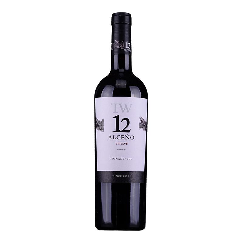 Alceno TW 12 Monastrell 干红葡萄酒 2014 750ml