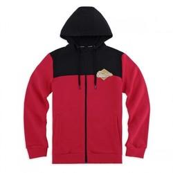 Skechers 斯凯奇 SEAMW18B099 男子新款针织连帽外套简约休闲风外套