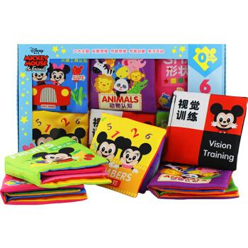 Disney 迪士尼 宝宝布书套装 6本 +凑单品