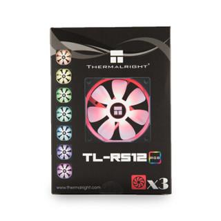 Thermalright 利民 TL-RS12 120RGB 散热风扇 3个装
