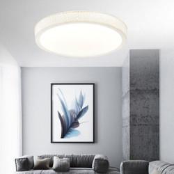HD 简约现代LED吸顶灯 18W 白光 璞玉