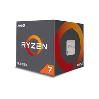 AMD 2700x CPU (八核心、十六线程、Socket AM4、盒装)