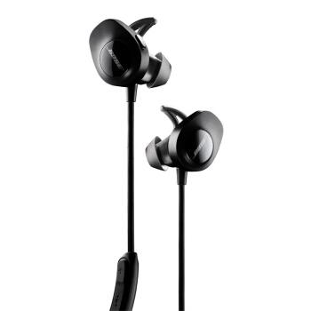 BOSE SoundSport Free 无线蓝牙耳机 (通用、后挂式、黑色)