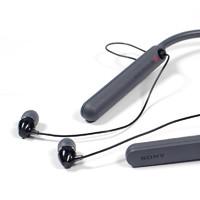 SONY 索尼 WI-C400 无线蓝牙耳机 (通用、后挂式、黑色)