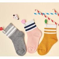 木木屋 儿童中筒袜 3双装