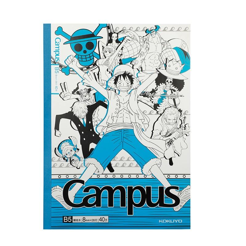 Kokuyo国誉 Campus系列 航海王ONE PIECE限定 笔记本 5本装