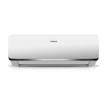 KONKA 康佳 KFR-35GW/BPYG-E1 一级能效 变频 静音 冷暖壁挂式空调挂机 1.5匹