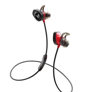 BOSE SoundSport Pulse 无线蓝牙耳机 (通用、后挂式、火红色)