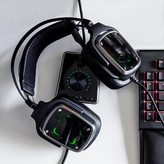 RAZER 雷蛇 迪亚海魔 7.1 V2 耳机 (游戏主机、头戴式、 16Ω、黑色)