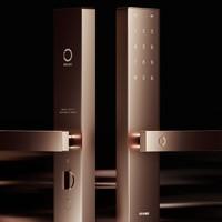新品发售 : ORVIBO 欧瑞博 T1C智能指纹锁 玄武黑/铜砂金
