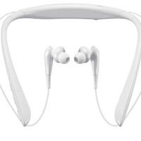 SAMSUNG 三星 Level U Pro ANC 蓝牙耳机 (通用、后挂式、白色)