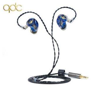 qdc Anole V3 耳机 (通用、动铁、入耳式、蓝色)
