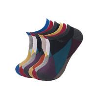 L'alpina/阿尔皮纳 男士低帮浅口休闲棉袜 短吸湿排汗船袜 防脱运动短袜 【六双装】