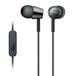 SONY 索尼 MDR-EX155AP 入耳式耳机 黑色