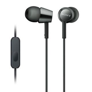 SONY 索尼 MDR-EX155AP 耳机 (通用、动圈、入耳式、黑色)