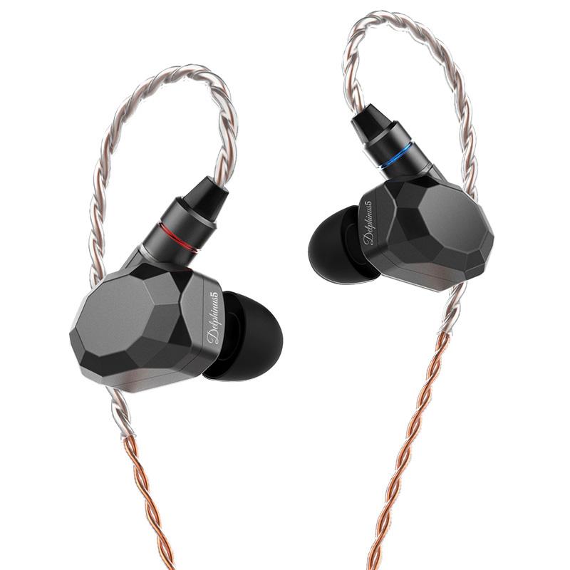 Astrotec 阿思翠 Delphinus 5 耳机 (通用、动铁、入耳式、锖色)