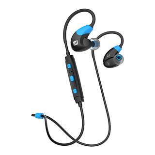 MEElectronics 迷籁 X7 无线蓝牙耳机 (通用、后挂式、黑蓝色)