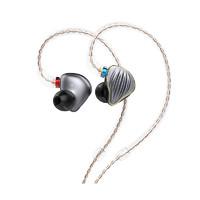 FiiO 飞傲 FH5 耳机 (通用、圈铁结合、入耳式、钛色)