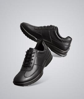 小米有品 Unibody系列 七面一体成型运动缓震皮鞋