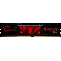 G.SKILL 芝奇 AEGIS 台式机内存(黑红色) (1.2v、DDR4 2400、8GB)