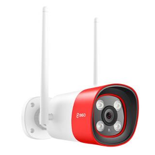 360 D801 智能摄像机 红色警戒户外版