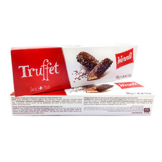 万恩利(Wernli)瑞士进口 巧客妃慕斯夹心巧克力味100g *8件