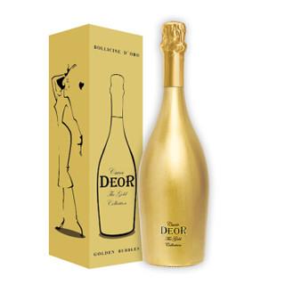 意大利进口 凯旋金瓶起泡葡萄酒 750ml 单支礼盒装 *2件 +凑单品