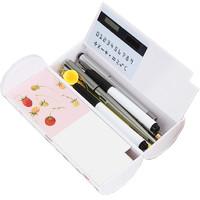 FARAMON 法拉蒙 多功能笔盒 带计算器 赠白板笔+可擦布