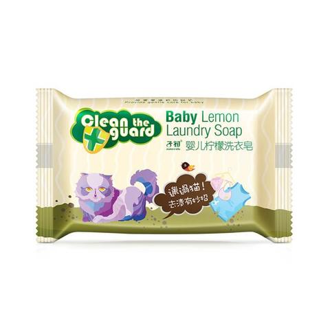 历史低价:Matern'ella 子初 婴儿天然植萃洗衣皂 柠檬 80g *10件