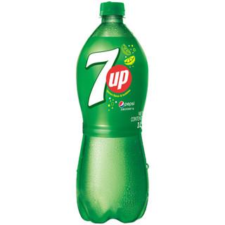 7喜 七喜 7up 柠檬味 碳酸饮料 1L*12瓶 百事可乐出品