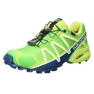 中亚Prime会员、限尺码 : SALOMON 萨洛蒙 SPEEDCROSS 4 GTX 男士越野跑鞋