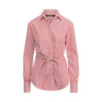 RALPH LAUREN 拉尔夫·劳伦 条纹衬衫RL60033 E48 (红色条纹、s)