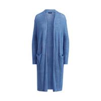 RALPH LAUREN 拉尔夫·劳伦 女 毛衣RL20704 B28 (蓝色、xs、罗纹亚麻布)