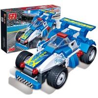 BanBao 邦宝 回力车积木模型 8612 骑士