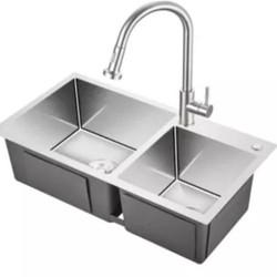 KEGOO 科固 K10020 不锈钢厨房水槽龙头套装