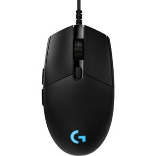 logitech 罗技 Pro游戏鼠标 有线鼠标 16000DPI 黑色