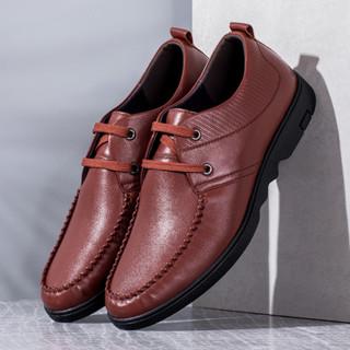 Aokang 奥康 165111135 男士英伦休闲皮鞋
