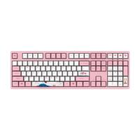 Akko 3108 V2机械键盘 世界巡回东京樱花键盘 游戏键盘 女性 电竞 全尺寸 吃鸡 Cherry轴 粉色 樱桃茶轴