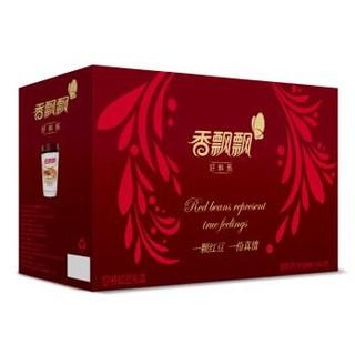 香飘飘奶茶 红豆味奶茶12杯礼盒装 杯装冲调饮品 *2件