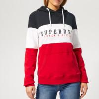 Superdry 极度干燥 女款字母印花连帽卫衣