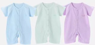 POPUBB 婴国偶相 新生婴儿短袖哈衣