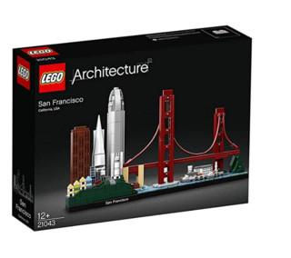 LEGO 乐高  Architecture建筑系列 21043 旧金山