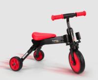 Pouch 帛琦 二合一折叠儿童三轮车
