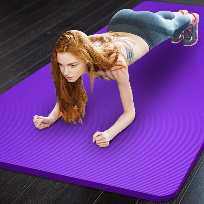 悦步 YB-瑜伽垫 男女士初学者加宽加厚加长防滑瑜珈垫